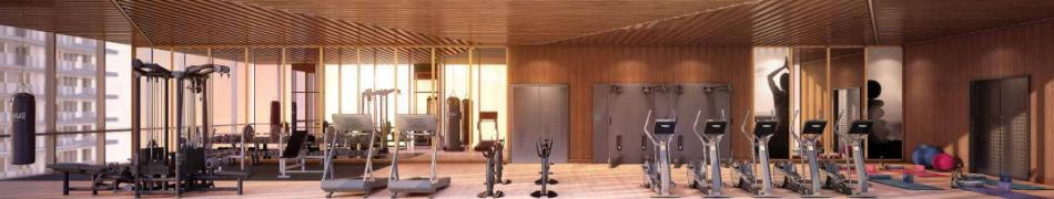 The LakeShore 23,000SQFT Fitness & Recreation Amenities