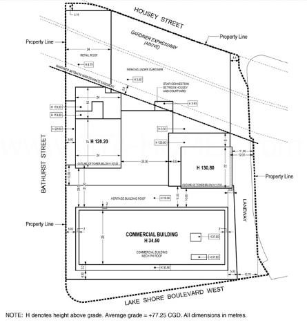 The LakeFront Condos Site Plan